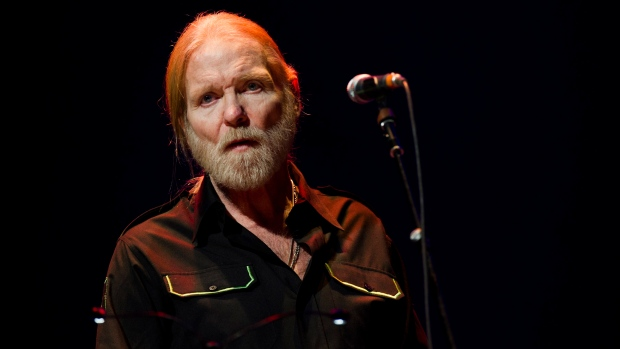 On Saturday, May 27, 2017, a publicist said Gregg Allman, the singer for The Allman Brothers Band, has died. (Photo by Charles Sykes/Invision/AP, file)
