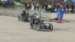 Students race their custom-built electric vehicles at the University of Waterloo. (May 27, 2017)