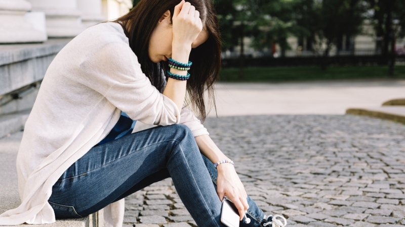 Experts are warning of a trend of elevated depression, anxiety and post-traumatic stress disorder among teens as they cope with the COVID-19 pandemic. (Martin Dimitrov/Istock.com)