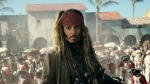 "In this image released by Disney, Johnny Depp portrays Jack Sparrow in a scene from ""Pirates of the Caribbean: Dead Men Tell No Tales."" (Disney via AP)"
