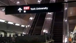 york university, subway, ttc