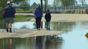 Flood fears, erosion concerns for residents along