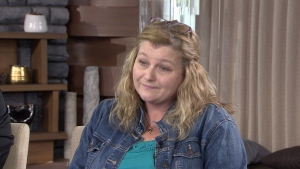 Julie Innes' daughter, Jaelyn Innes, died of an overdose April 27. She shared her story with CTV on May 28. (CTV)