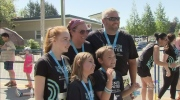 Abbotsford run honours slain teen's memory