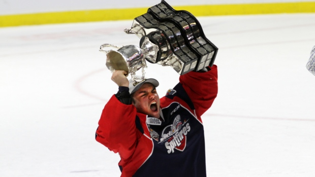 Jeremy Bracco: Jeremy Bracco helps Windsor win Memorial Cup