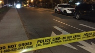 Police are investigating three separate street robberies in the area of Jarvis and Wellesley streets. (Mike Nguyen/ CP24)