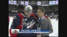 Michael DiPietro speaks with CTV's Bob Bellacicco following the Windsor Spitfire's Memorical Cup Win. (CTV Windsor)