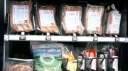 Vending machine dispenses fresh meat