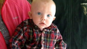 Baby mysteriously turns blue and stops breathing