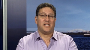 Above Znoneofthe, formerly known as Sheldon Bergson, speaks to CTV's Your Morning about his name change on May 29, 2017.