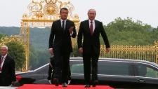 Russian President Vladimir Putin visits France