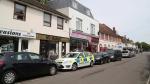 Police activity at a property in Shoreham-by-Sea, England, Monday, May 29, 2017. (Gareth Fuller/PA via AP)