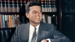 Sen. John F. Kennedy, D-Mass., is shown in his office in Washington on Feb. 27, 1959. (AP Photo, File)