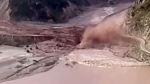 Extended: Massive mudslide in Tajikistan