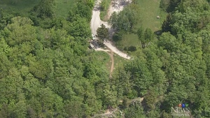 Woman dies after falling from a cliff in Milton, O