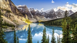 Banff National Park in Alberta is shown in this file image. (MartinM303 / Istock.com)