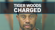 Tiger Woods charged with DUI in Florida