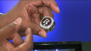 Henry's Grey Cup ring