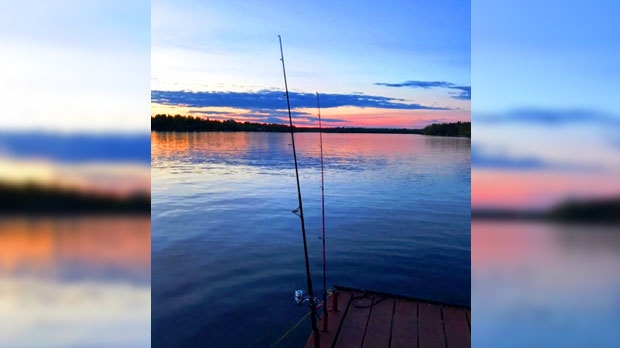 Relaxing, fishing and watching the sunset on Lee River. Photo by Karen Hourie.