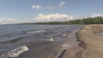 Shoreline of Lake Nipissing in North Bay, Ont. (file)