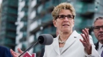 Ontario Premier Kathleen Wynne speaks about Ontario's Fair Housing Plan during a press conference in Toronto on Thursday, April 20, 2017. (Christopher Katsarov/The Canadian Press)