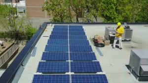 CTV Montreal: School goes solar