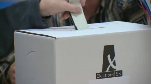 Election, Saskatchewan, voting, ballot box