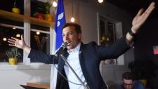 Quebec Solidaire candidate Gabriel Nadeau-Dubois
