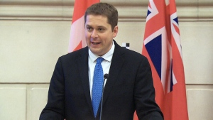 CTV National News: Scheer's first day on job
