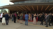 Scenes from outside the Festival Theatre on opening night of the 65th Stratford Festival. (CTV Kitchener)