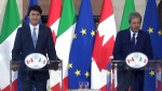 LIVE1: Trudeau, Italian PM joint news conference