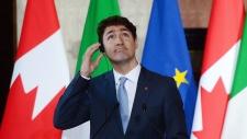 Prime Minister Justin Trudeau at Villa Madama