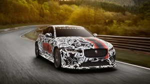 The Jaguar XE SV Project 8 Collector's Edition is an extreme performance sports car