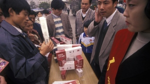 China remains the world's biggest consumer of cigarettes, with an average 4,124 cigarettes smoked each year by adults in the country (11-12 per day).. (urf / Istock.com)