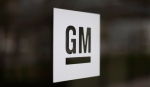 The General Motors logo is seen at the company's world headquarters in Detroit on Friday, May 16, 2014. (AP / Paul Sancya)