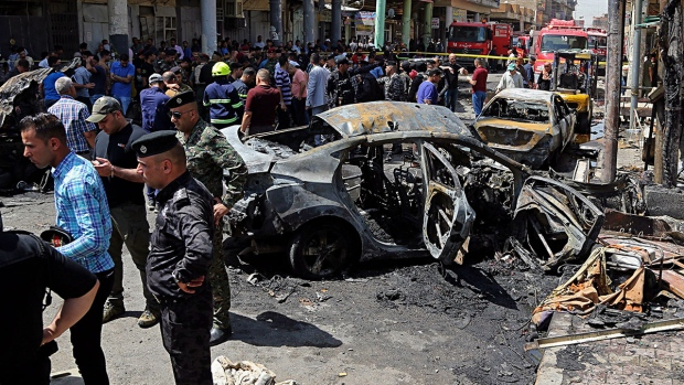Deadly bomb attack in Baghdad, Iraq
