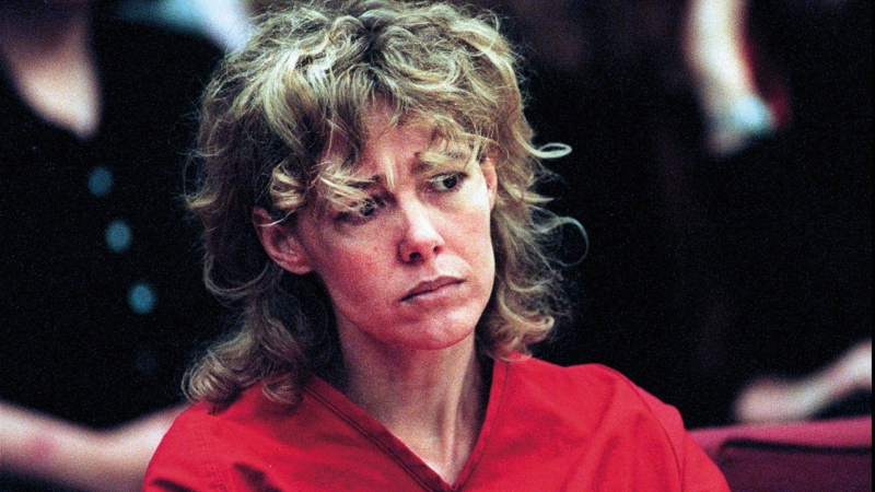 In this Feb. 6 1998, file photo Mary Kay Letourneau listens to testimony during a court hearing in Seattle. (AP Photo/Alan Berner, Pool. File)