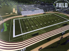 A concept image of the Nature Fresh Field planned for the Leamington District Secondary School.