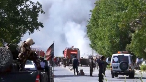Extended: Aftermath of blast in Kabul
