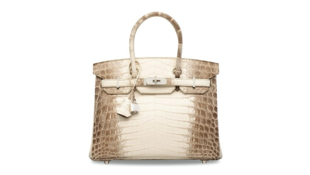 Birkin bag sells for record $380000 at Hong Kong auction