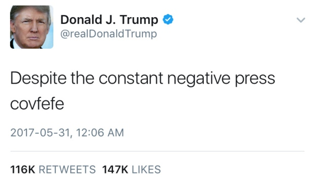COVFEFE Act would enter social media posts into presidential record