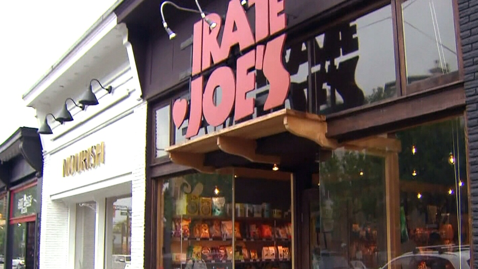 Pirate Joe's in Vancouver re-sells merchandise from the popular U.S.-only chain Trader Joe's.