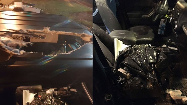 Man, 32, charged after cinderblocks thrown into traffic along Hwy. 401: OPP