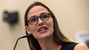 Actress Jennifer Garner, a Trustee for Save the Children, testifies on Capitol Hill in Washington on March 16, 2017. (Susan Walsh/AP)