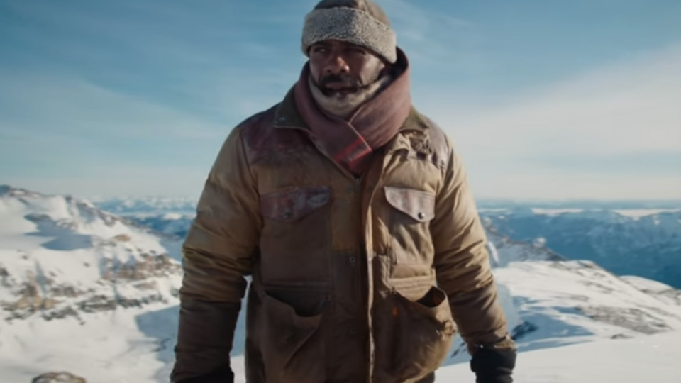 Idris Elba is shown in the trailer for 'The Mountain Between Us.' (20th Century Fox / YouTube)