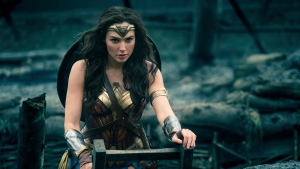 This image released by Warner Bros. Entertainment shows Gal Gadot in a scene from 'Wonder Woman.' (Clay Enos / Warner Bros. Entertainment via AP)