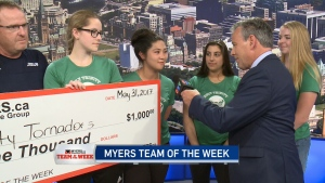 Myers Team of the Week: Holy Trinity Tornadoes