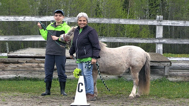The Timmins Therapeutic Riding Association said its Mini Wheats program teaches important life skills to children with autism.