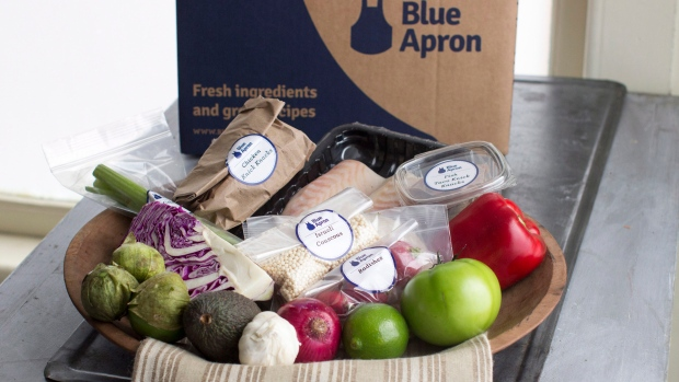 U.S. meal kit service Blue Apron files for IPO