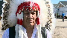 Lake St. Martin First Nation Chief Adrian Sinclair